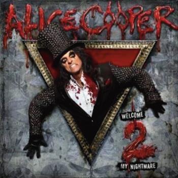 """L'album di #AliceCooper intitolato """"Welcome 2 my nightmare""""."""