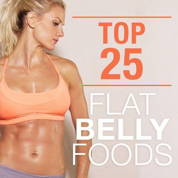 Top+25+Flat+Belly+Foods