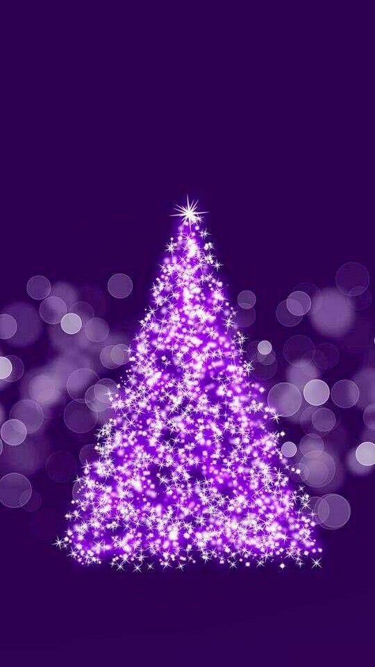 17346 best purple is awesome images on pinterest - Purple christmas desktop wallpaper ...