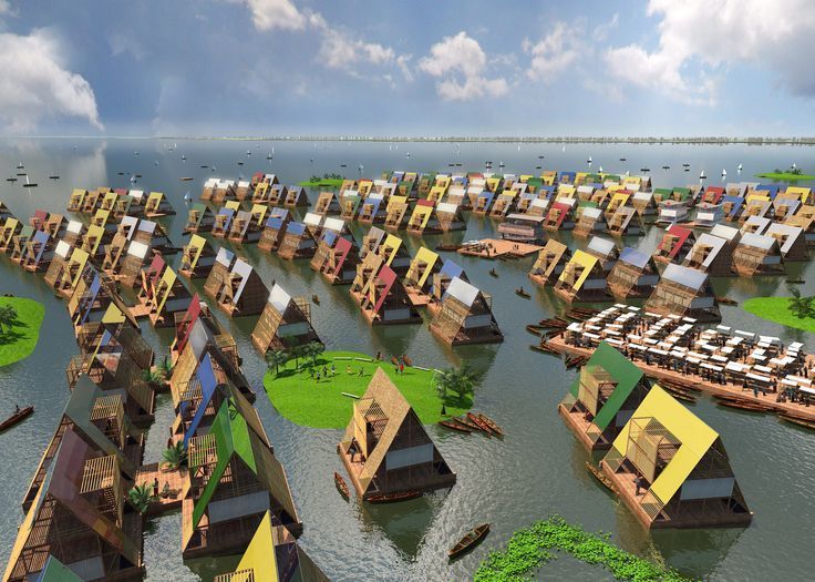 Proposed developments in floating architecture may address rising sea levels and limited housing options.