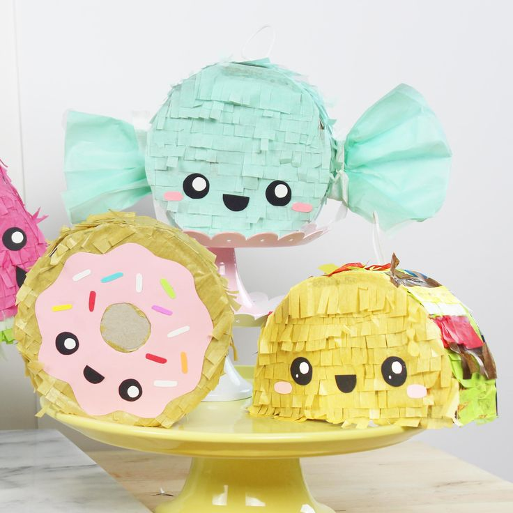 DIY Mini Pinatas                                                                                                                                                                                 More