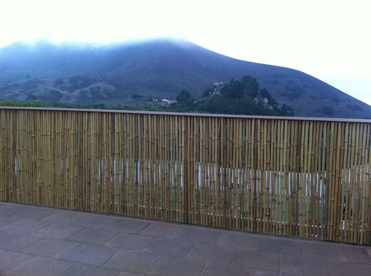 Customer Dan Renke Made A Beautiful Patio Fence With Our Bamboo Fencing  Rolls.