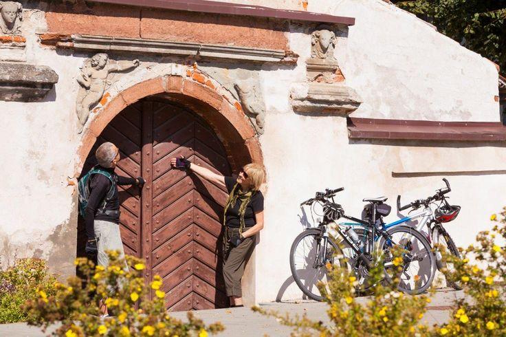 Dawny klasztor w Dziergoniu. #Dzierzgoń w Województwo pomorskie #kologotyku #rowery #Polska #Pomorskie  #turystyka #architektura