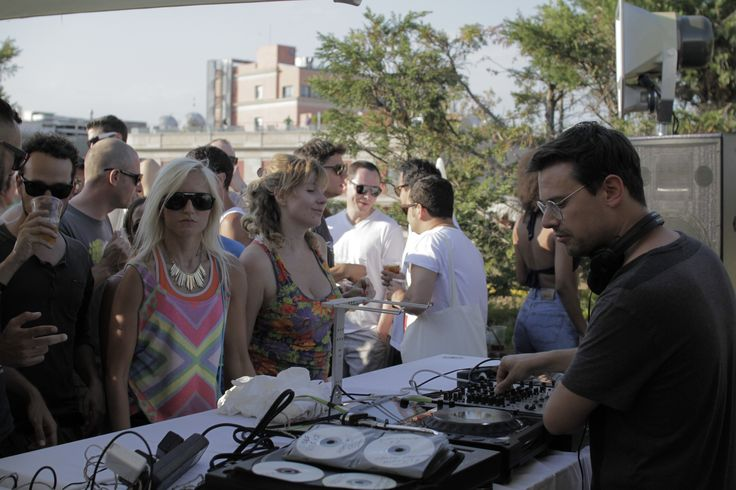 Pets Recordings Rooftop at Hotel Silken, Sonar Festival 2013  12 June - Taken at Hotel Silken Ramblas Barcelona, Spain  Photos by Daniel Stetting / artpage  http://www.residentadvisor.net/event.aspx?477223