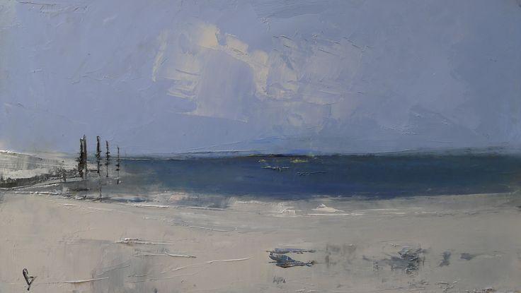 Orasay Spring 20 x 38 cm Oil on board
