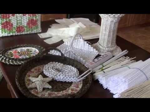Как получить белые трубочки для плетения.. Обсуждение на LiveInternet - Российский Сервис Онлайн-Дневников