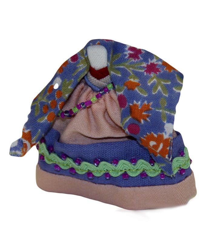 Кукла традиционная «Акань» в казымском костюме