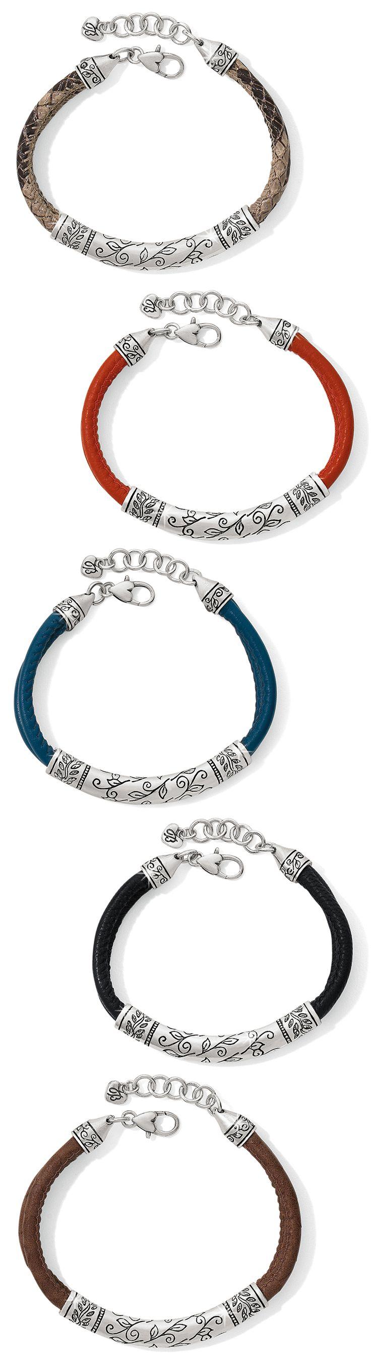 Brighton Glastonbury Leather Bracelets #BrightonCollectibles
