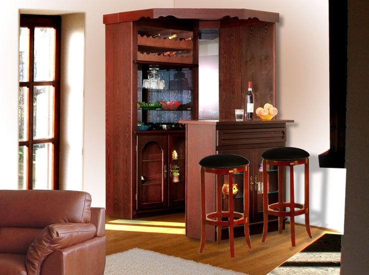 Ideas for Corner Bar Table - http://www.1sthomebarideas.com/ideas-for-corner-bar-table/ : #Uncategorized Corner bar table – It is easy to create a space where serving drinks and snacks in an unused corner of kitchen, living room or living room. You do not need much space, but you'll have to plan how to use every square centimeter for maximum benefit. You can build a cabinet bar with...