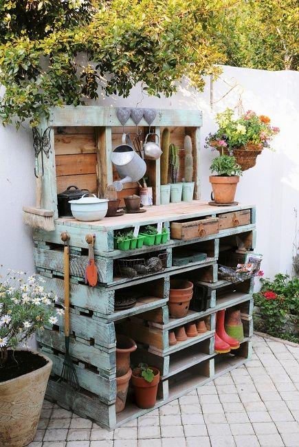 25+ Best Ideas About Pflanztisch On Pinterest | Terrassen Ideen ... Pflanztisch Fur Den Garten Ideen Selbermachen