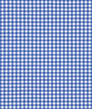 "Robert Kaufman 1/8"" Royal Blue Carolina Gingham Fabric - $7.15 | onlinefabricstore.net  table cloth?"