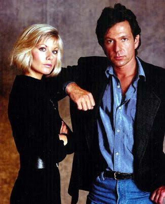 Dempsey and Makepeace; Britse detective (1984-86)  (acteurs: Michael Brandon & Glynis Barber zijn later getrouwd en hebben een zoon!)