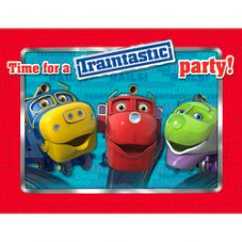 Chuggington Party Supplies, Chuggington Invitations