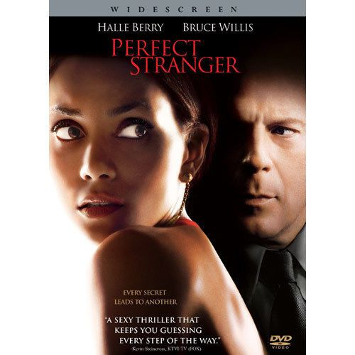 Perfect Stranger (DVD, 2007, Widescreen) Halle Berry, Bruce Willis / Brand New #Sony