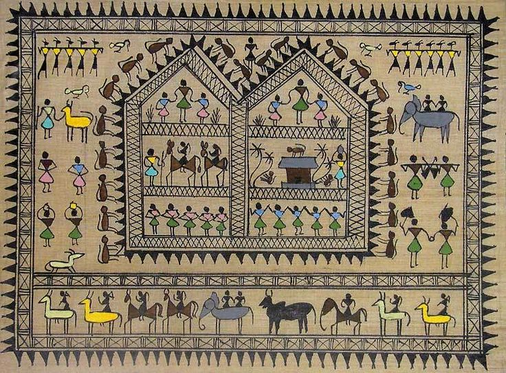 The hidden messages inside the Warli paintings enchant one and all