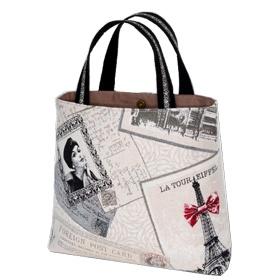 Kit couture sac rétro Angie  -Malice-    Craquez pour ce sac vintage ultra fashion.  Un sac rétro que vous ne quitterez plus.  37€