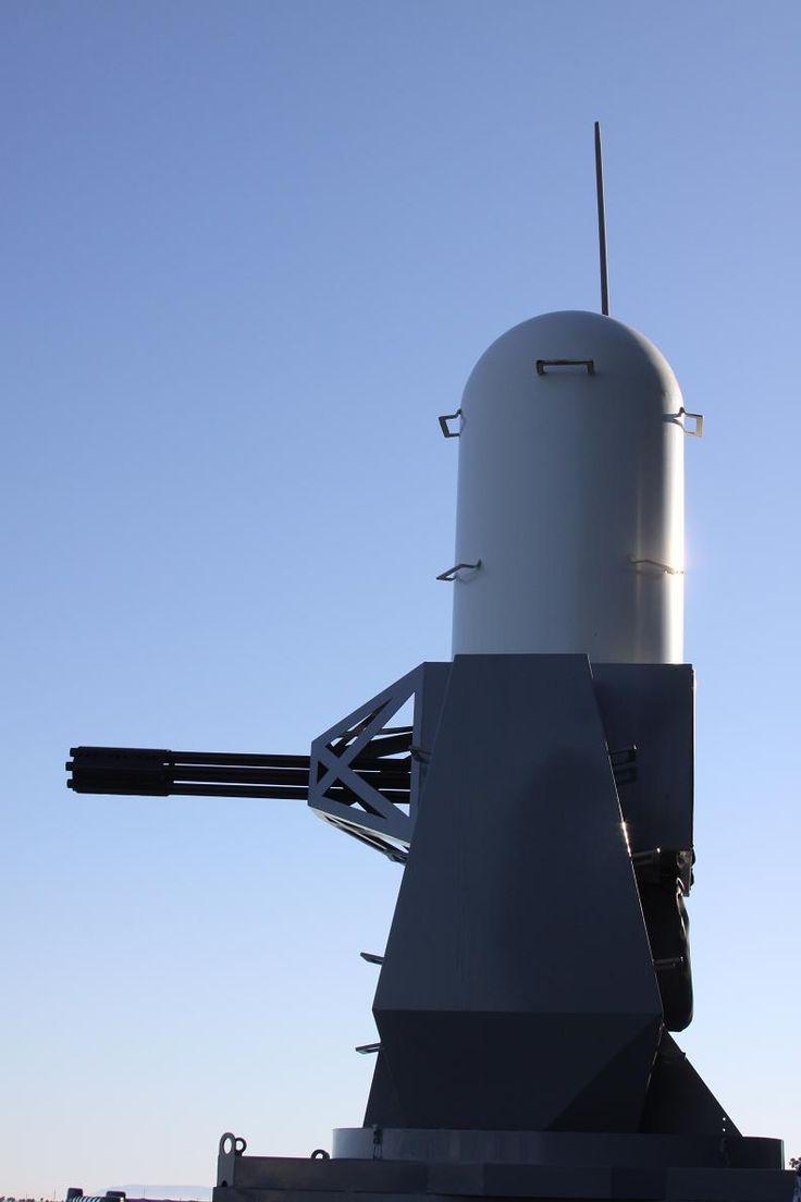 20 mm / 76 calibre Phalanx CIWS - Modern Anti-Aircraft Gun ...