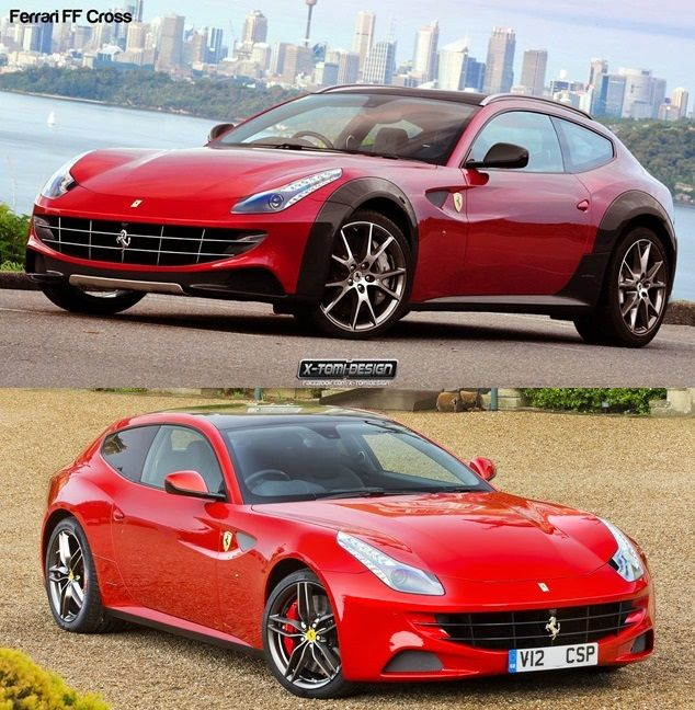 Ferrari FF Cross Concept