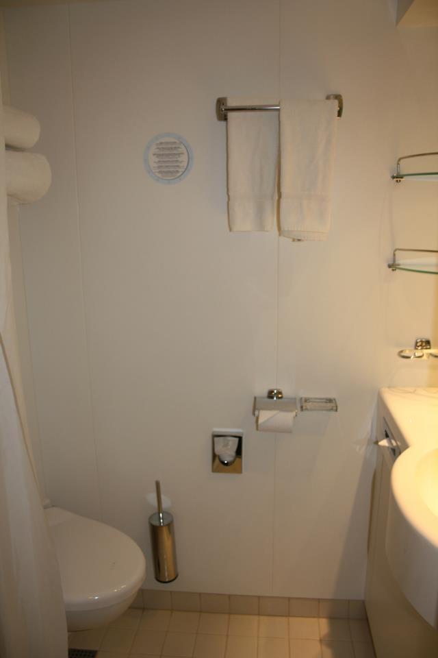 Badezimmer der Kabine
