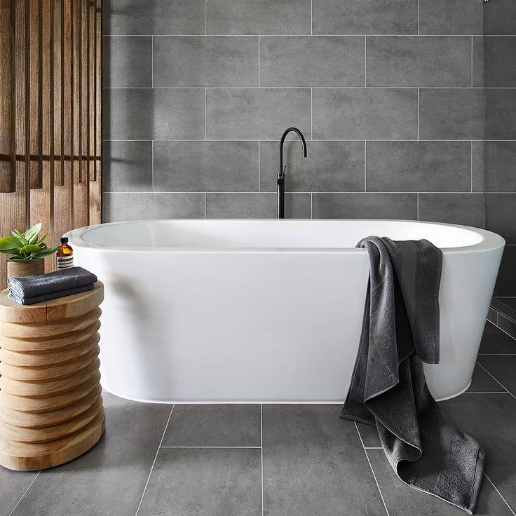 Ahhhh....the perfect place to relax at the end of a long week. Dive in now! House plans   new home goals  freestanding baths  melbourne home builder