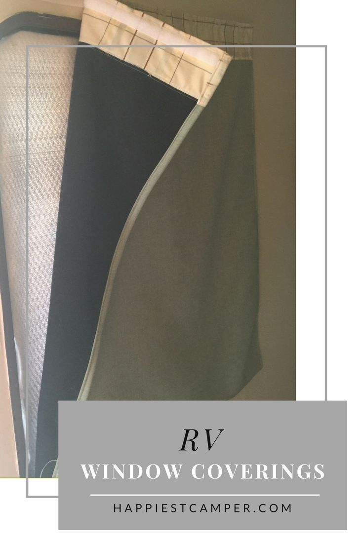 RV Window Coverings for hot and cold. Control the temperature in your RV with insulated window coverings. Add window coverings to your RV.