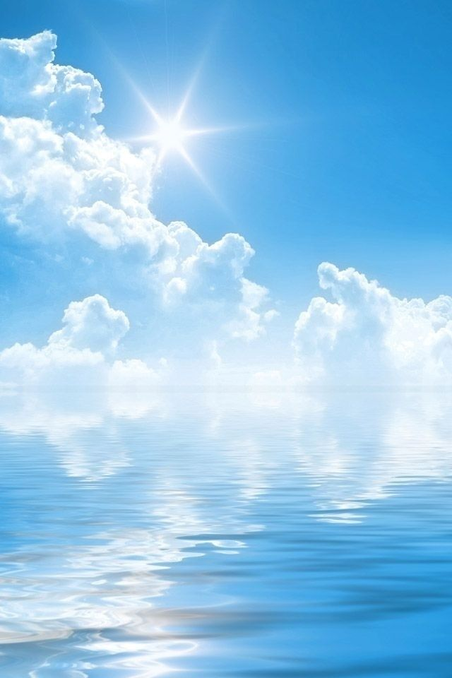 Live Wallpaper Iphone X App Summer Iphone Wallpaper Bing Images Blue Sky S