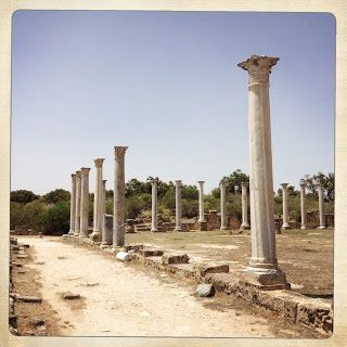 Salamis Archaeological Site in Northern Cyprus #Cyprustips