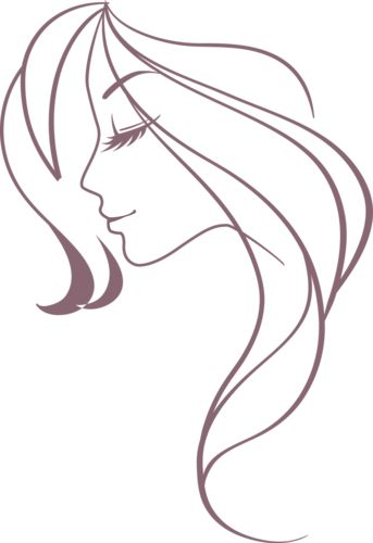 Line Drawing Of Face Profile : Best woman silhouette ideas on pinterest