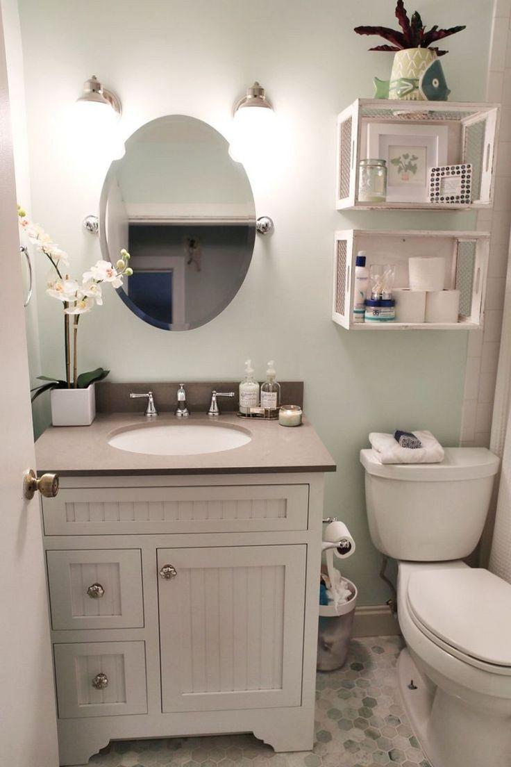Tiny Bathroom Makeover Ideas On A Budget 39