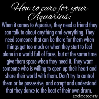 Aquarius man dating cancer woman