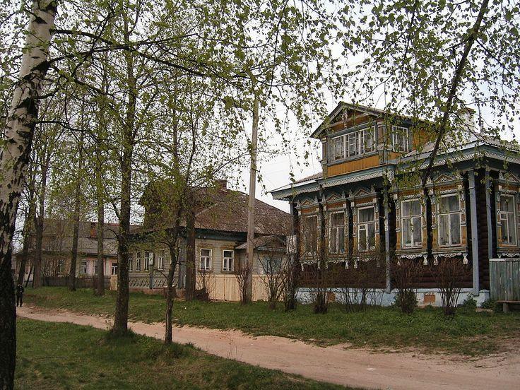Houses in Myshkin