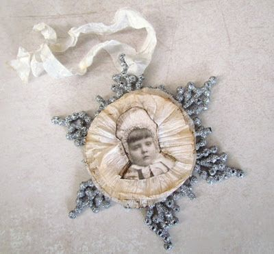 Beautiful snowflake ornament.