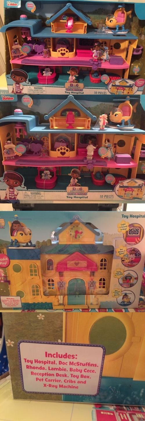 Other Disney Toys 19224: Just Play Doc Mcstuffins Toy Hospital Playset -> BUY IT NOW ONLY: $40 on eBay!