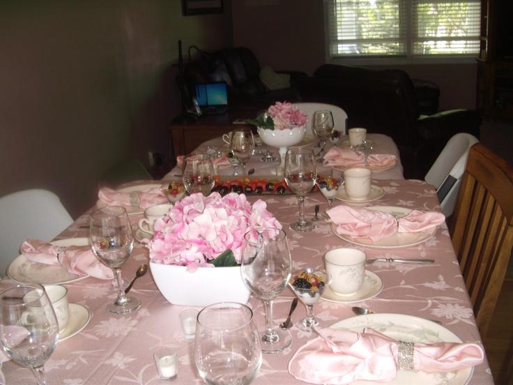 Pinterest Bridal Shower: Pink Pink Pink....bridal Shower Brunch