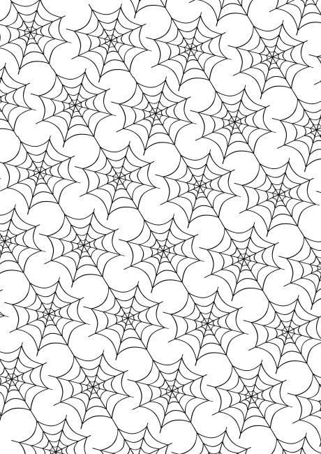 Halloween scrapbook paper spider web