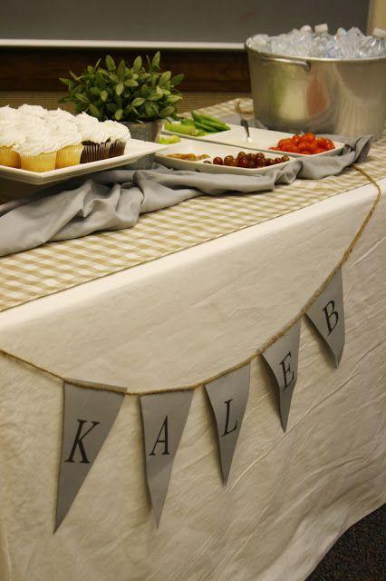 Clarendon Lane Food Table At LDS Baptism Find More Greats MormonFavorites