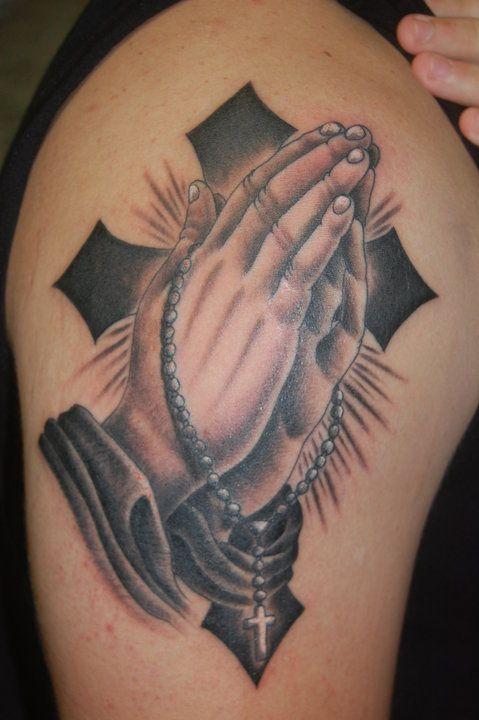 27 besten praying hands tattoo stencils bilder auf. Black Bedroom Furniture Sets. Home Design Ideas