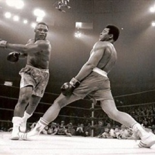 Mohammed Ali that's how cool he was