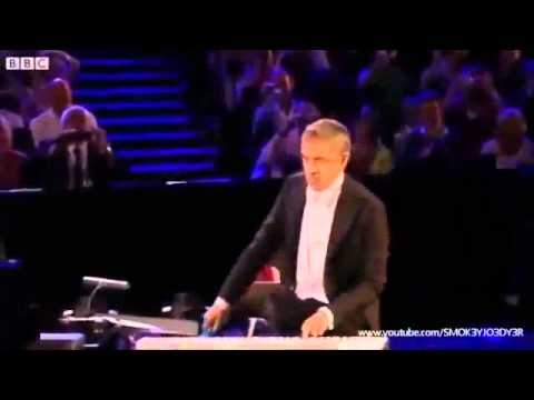 Mr Bean in a slice of British Culture at the London 2012 Opening Ceremony