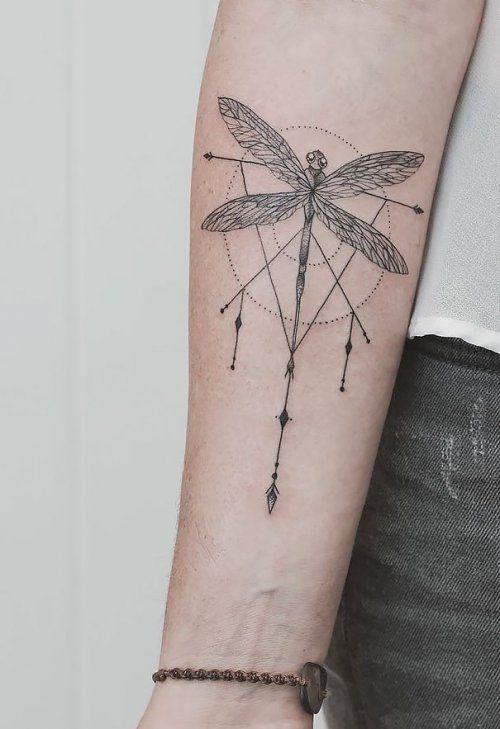 Геометрические татуировки Джаспера Андреса (13 фото)