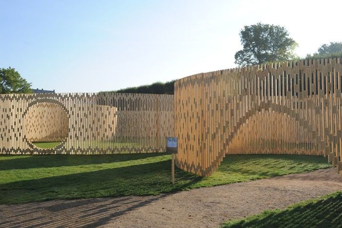 Arkitekturbilleder.dk - Bygningsværk - Trylletromler/Zoetropes - Pavillon MAA 1:1