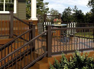 composite deck railing kits - at www.diyhomecenter.com