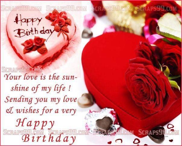 Happy Birthday This post contains some of the best collection of – 123 Birthday Greetings for Lover
