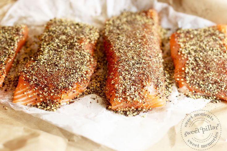 Sumac Cumin Crusted Salmon — Sweet Pillar™
