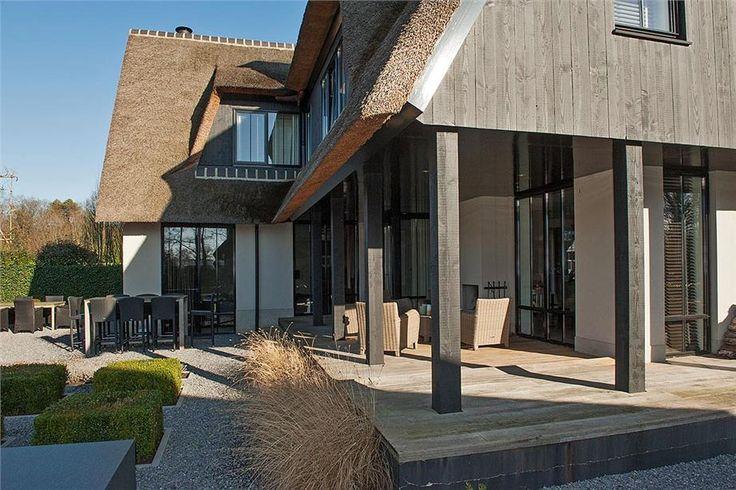 Huis te koop het kalkhaar 4 7607 rv almelo foto 39 s funda landelijke woningen pinterest - Foto modern huis ...