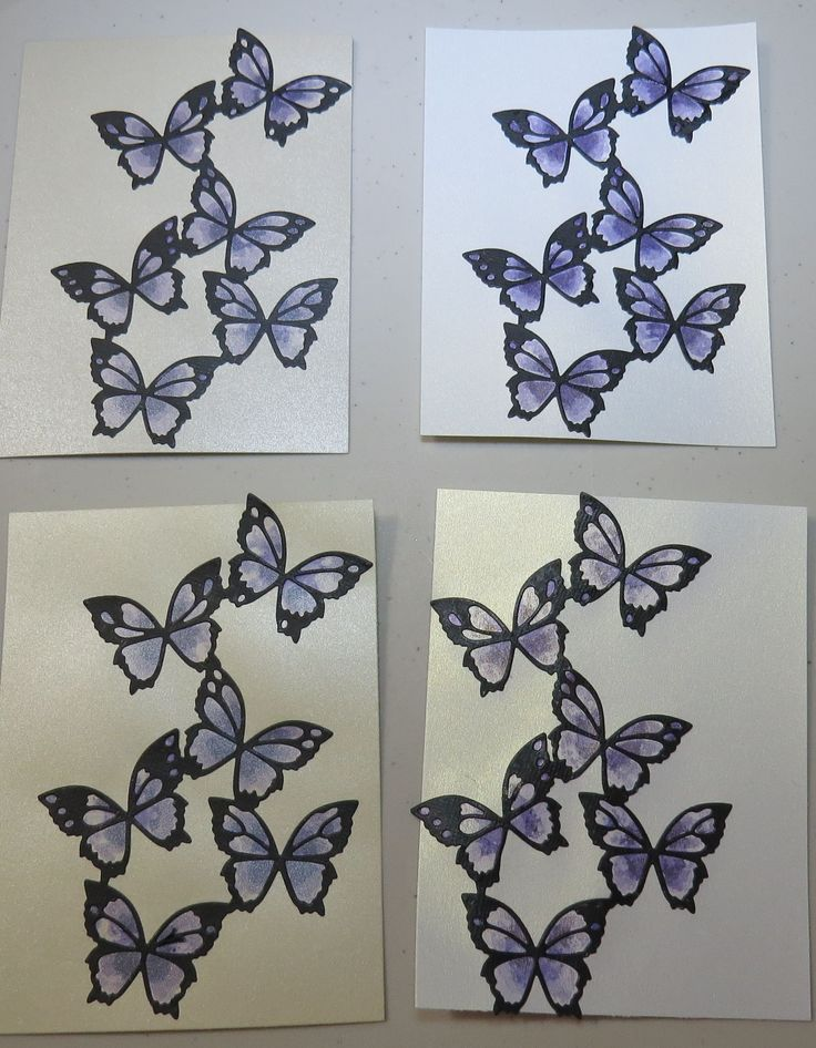2015.04.19 LILAC BUTTERFLY CARD FRONTS