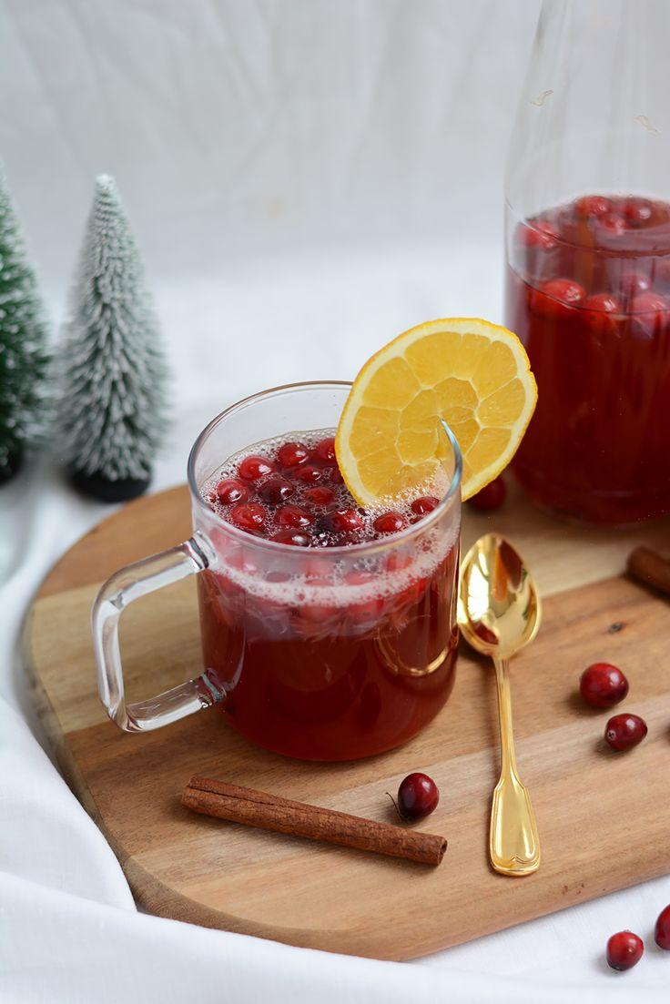 Cranberry-Punsch: Cocktail | we love handmade