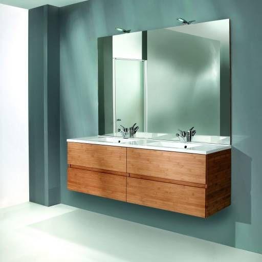 Nipan Bathroom Furniture in Bamboo