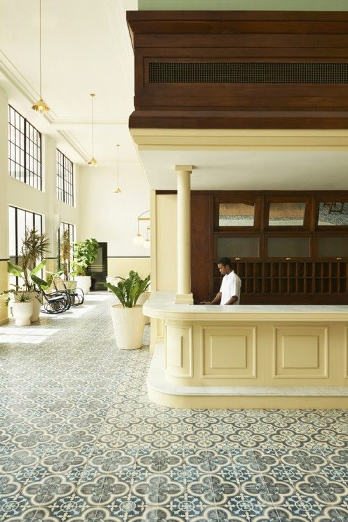 The American Trade Hotel is located in the 340-year-old Casco Viejo neighborhood of Panama City. The neighborhood was declared a World Heritage Site by UNESCO in 1997. The American Trade Hotel, which just opened this fall, is a collaboration between the Ace Hotel group and Conservatorio