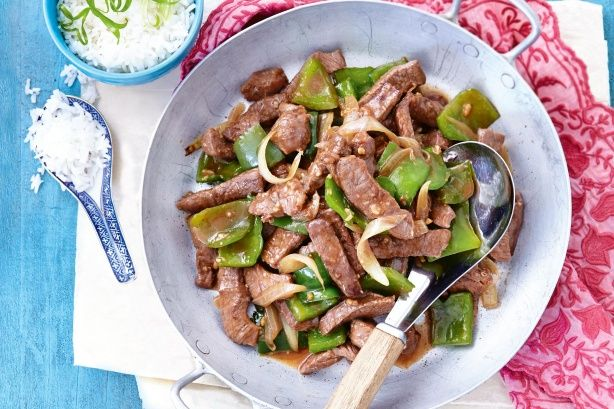 """This takeaway classic is usually cooked on a grill plate and is often referred to as """"sizzling"""" Mongolian #lamb."""